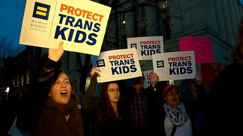 Trump administration reverses transgender bathroom