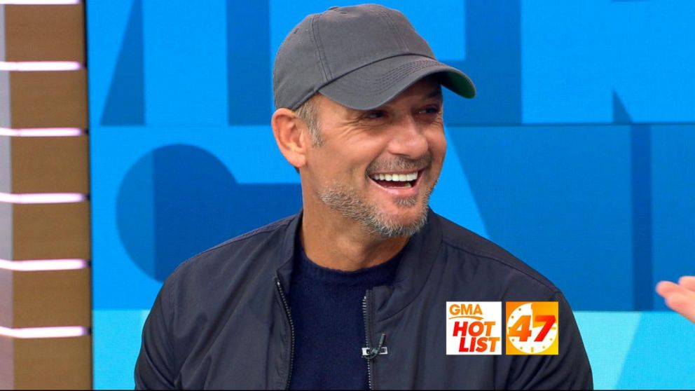 Gma Hot List Tim Mcgraw Dishes On His Tour With Wife