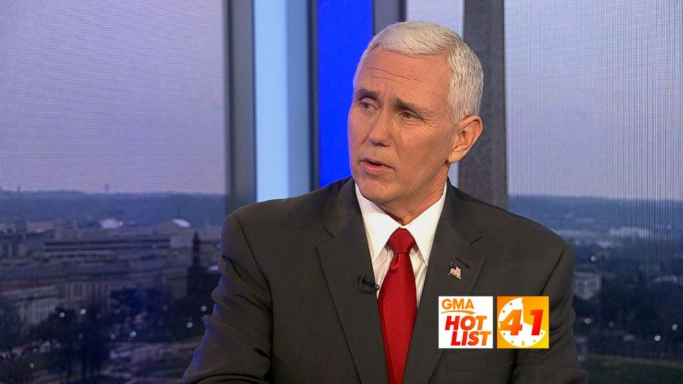 GMA' Hot List: Vice President Mike Pence discusses repealing