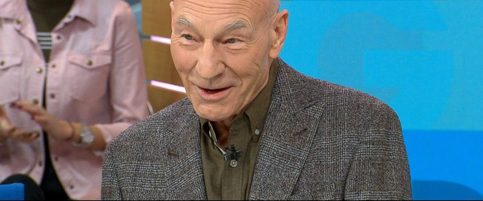 VIDEO: Patrick Stewart dishes on Logan live on GMA
