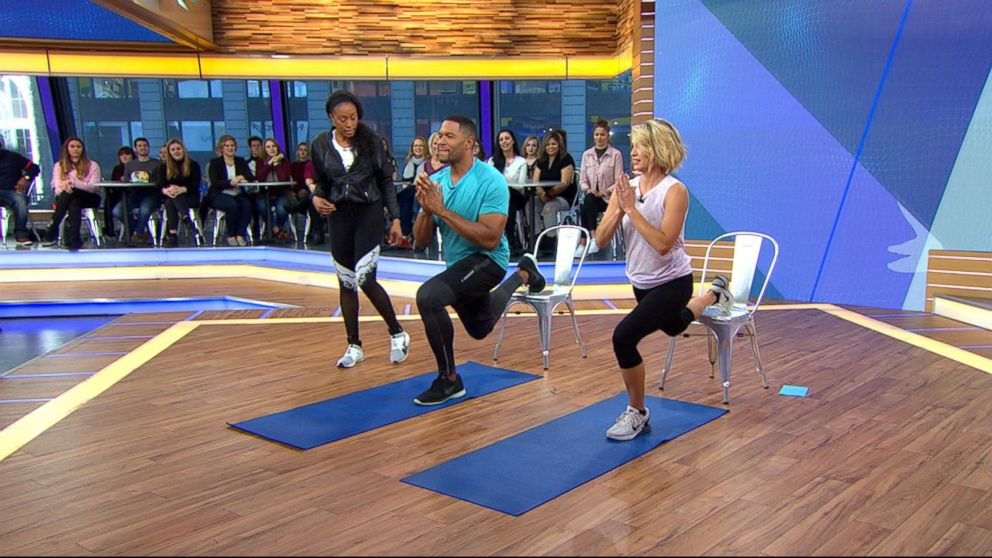 Workout Moves GMA Anchor Michael Strahan Loves To Hate Video