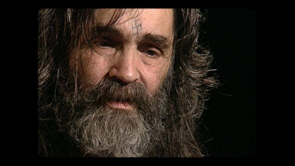 Never-before-broadcast footage of Diane Sawyer interviewing Charles Manson