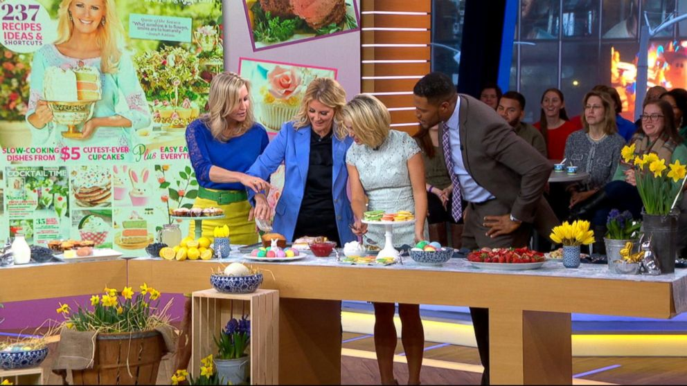 Sandra Lee demonstrates delicious Easter recipes live on \'GMA\' Video ...