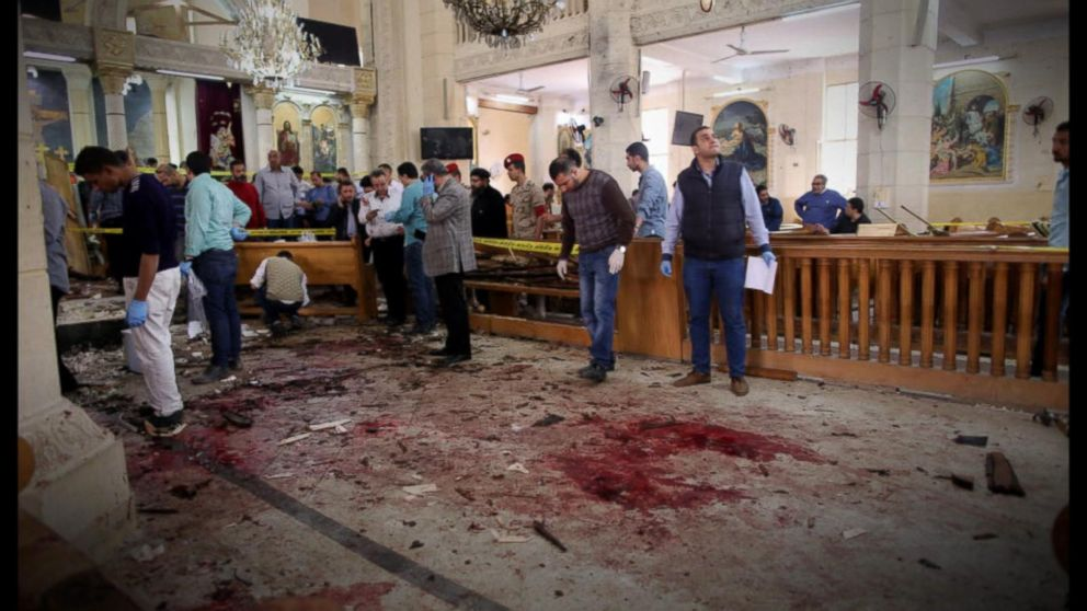 Palm Sunday terror attacks rock Egypt Video - ABC News