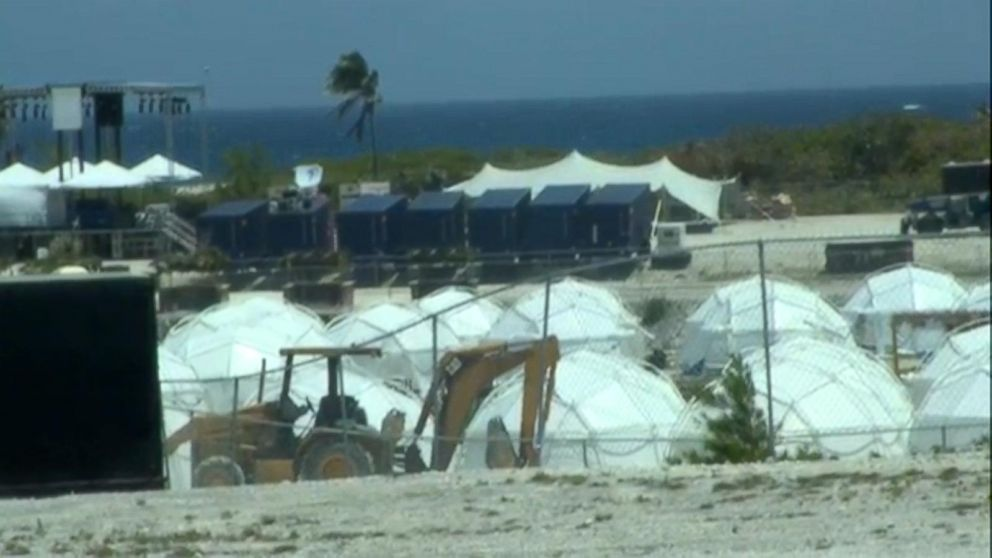 Fyre Festival promo video island Saddleback Cay is now up for sale