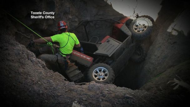 VIDEO: Man trapped in mineshaft pulled to safety