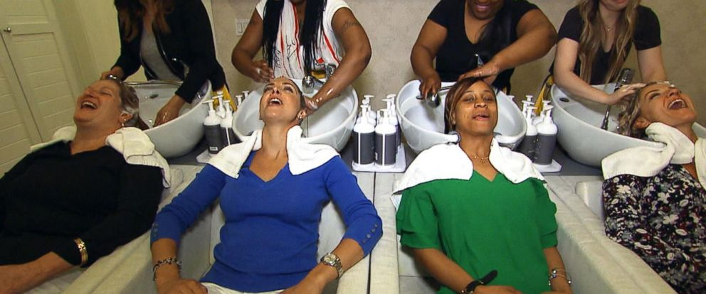 VIDEO: Deserving moms gets a day of pampering for Mothers day