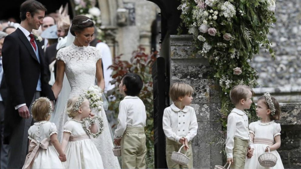 4f9ab2f979d1a All the details of Pippa Middleton's wedding to James Matthews - ABC ...