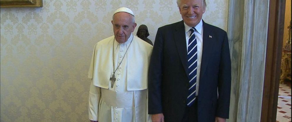 VIDEO: President Trump meets with Pope Francis at the Vatican