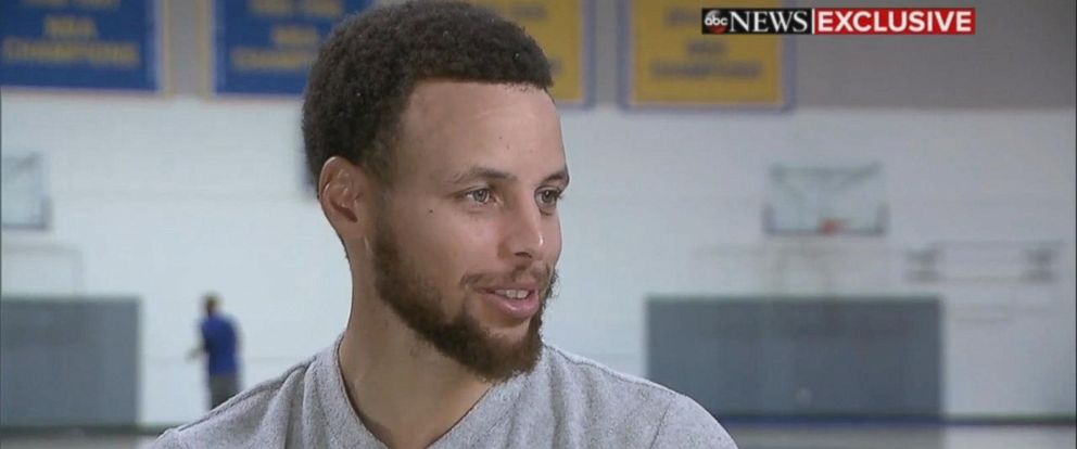VIDEO: Steph Curry shares conversation with Obama on the challenges of leading a public life