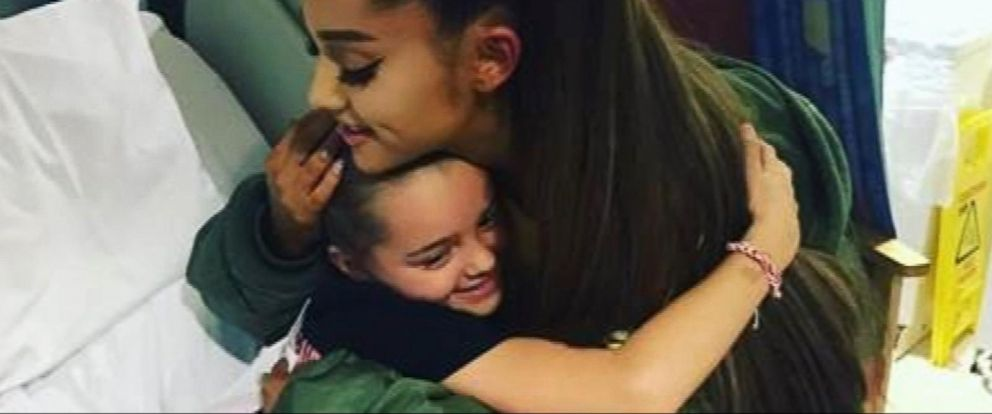 VIDEO: Ariana Grande back in Manchester ahead of her charity concert