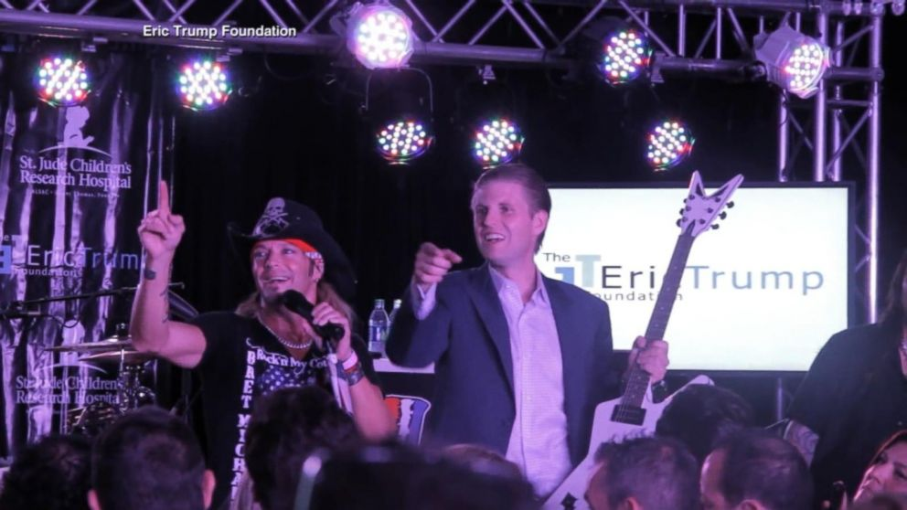 St Judes And Eric Trump Christmas 2020 Eric Trump funneled cancer charity money to his businesses