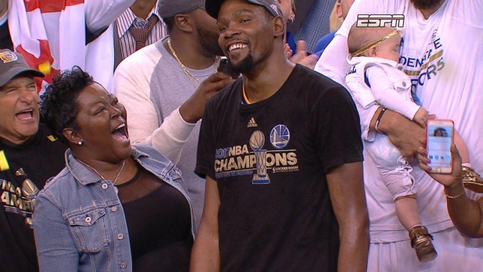 ef20318740ba The mother of NBA Finals MVP Kevin Durant shares her parenting secrets on   GMA