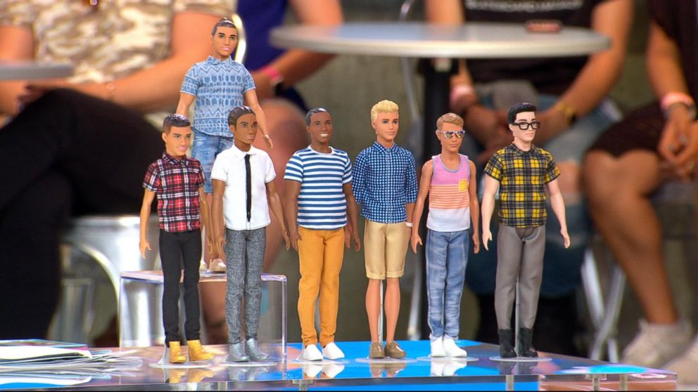 0c3bad5d New stylish Ken doll designs revealed live on 'GMA' Video - ABC News