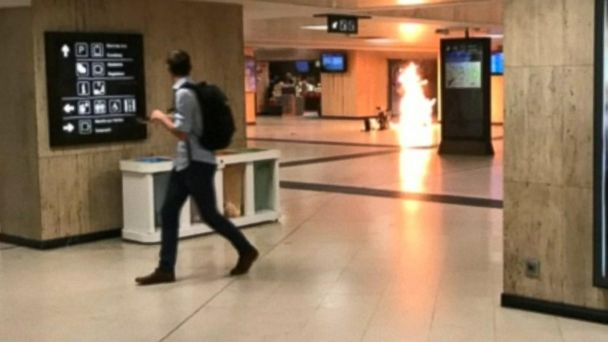 Security high in Brussels after train station attack