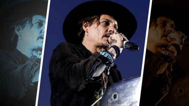 Johnny Depp jokes about assassinating the president