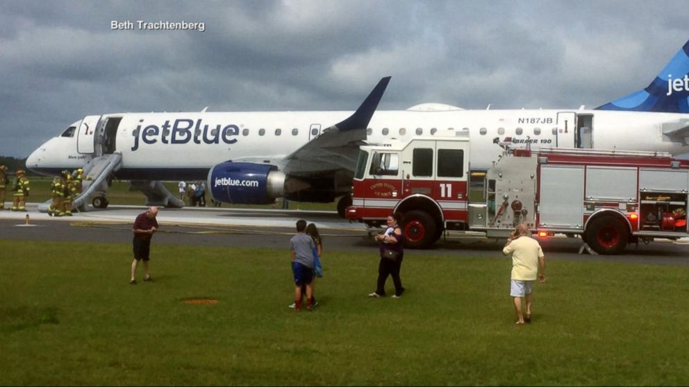 JetBlue flight forced to make emergency landing in due to smoke in the  cockpit