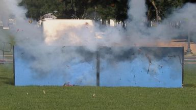 Florida man seriously injured after firework exploded in his