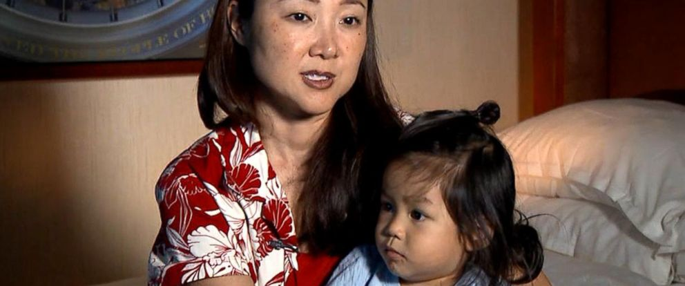 VIDEO: United Airlines gives away toddlers seat, forces mom to carry him during flight