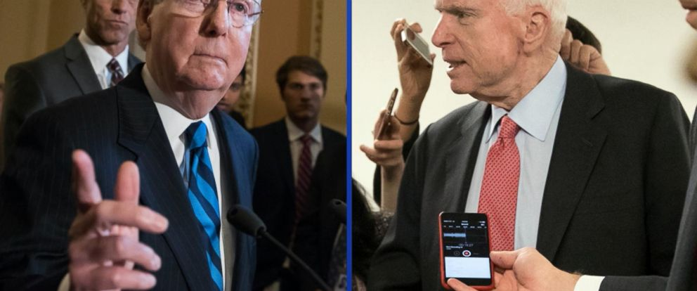 VIDEO: GOP delays health care vote due to McCain surgery