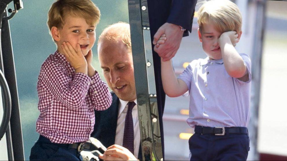 Prince George Celebrates His 4th Birthday Video Abc News