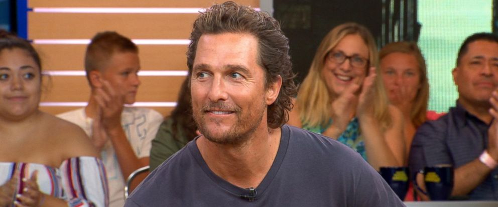 VIDEO: Matthew McConaughey reveals biblical inspiration for son Levis name