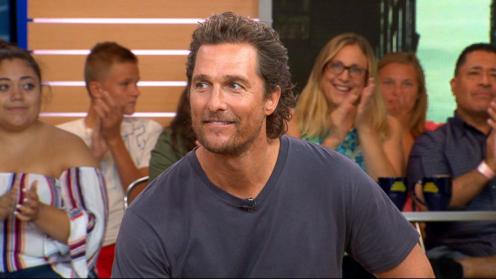 Matthew Mcconaughey Reveals Biblical Inspiration For Son Levis Name
