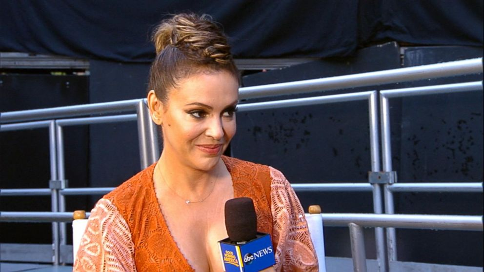 Alyssa Milano says she was  terrified  to join  Wet Hot American ... d5b0eb061