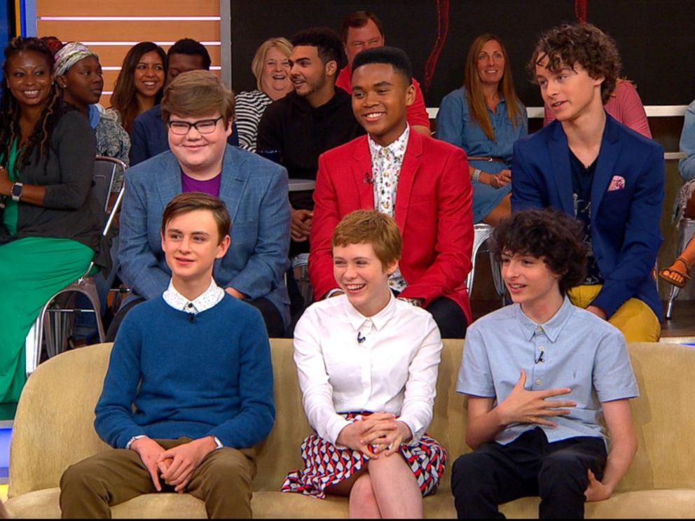 VIDEO: The cast of It opens up about the highly-anticipated film live on GMA