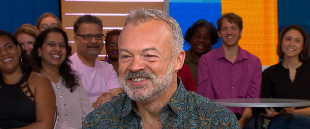 VIDEO: BBC late-night host Graham Norton shares stories behind his 1st ever novel