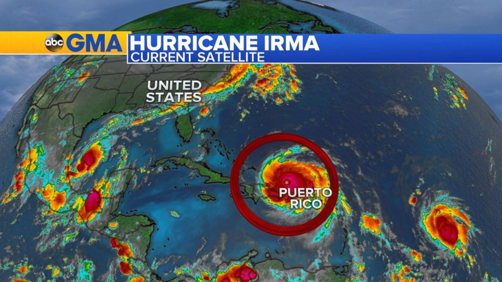 Tracking The Path Of Hurricane Irma Video Abc News