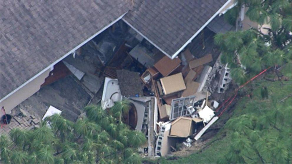 Sinkholes Threaten Florida Homes After Irma