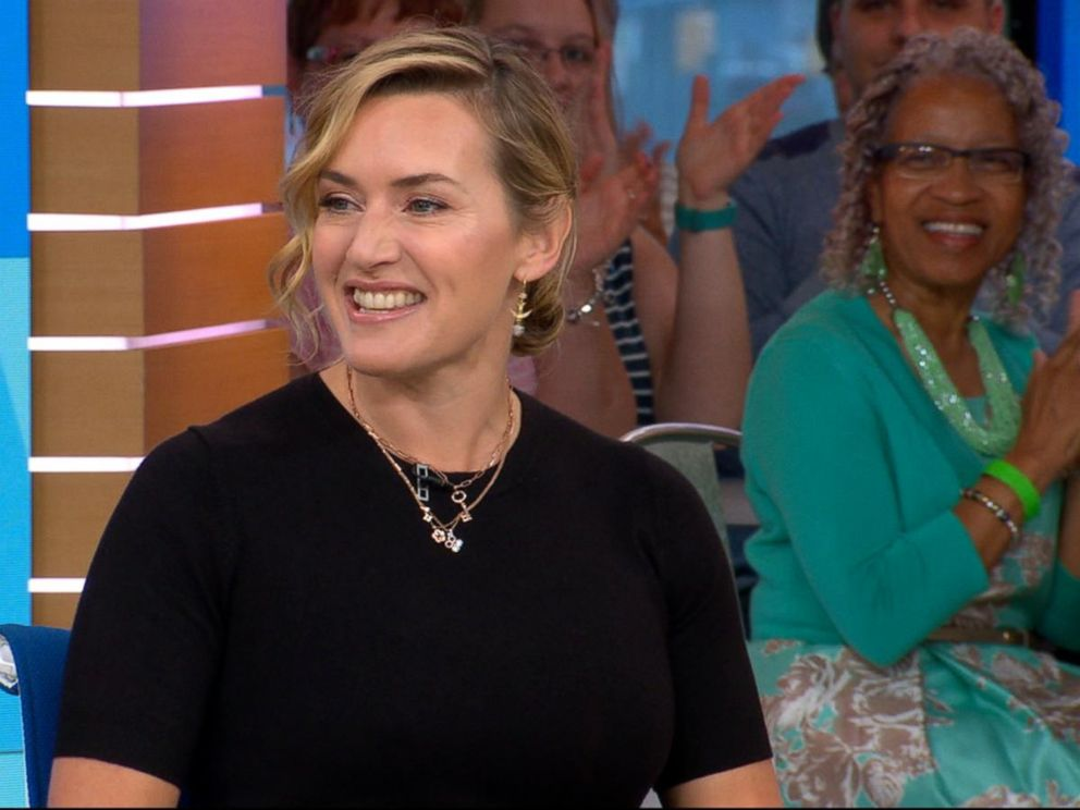 VIDEO: Kate Winslet opens up about The Mountain Between Us live on GMA