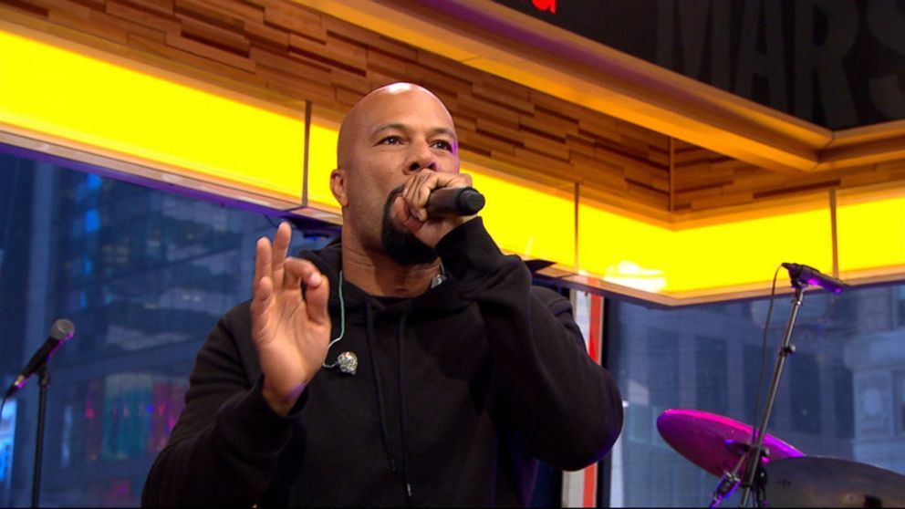 VIDEO: Common and Andra Day freestyle live after GMA performance