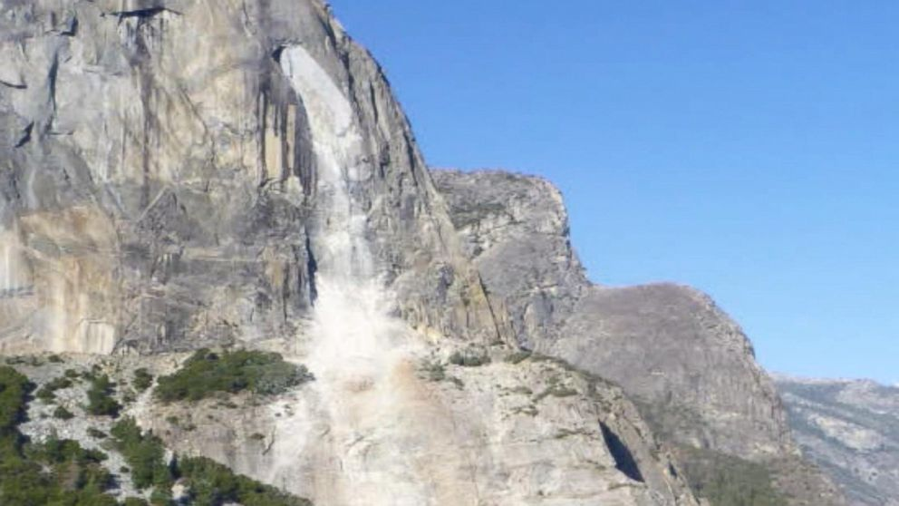 2nd Rockfall In 2 Days Occurs At Yosemite National Park Injuring 1