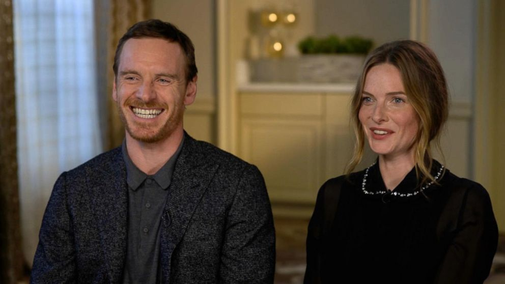 Michael Fassbender and Rebecca Ferguson discuss their new horror ...