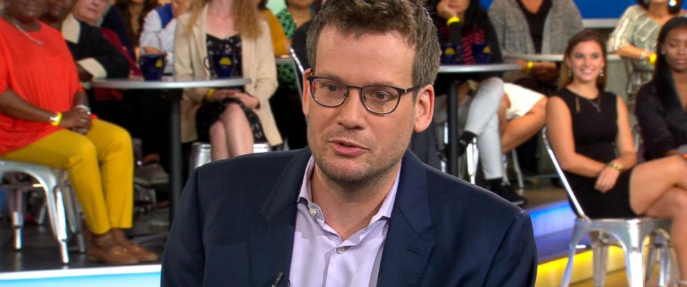 VIDEO: John Green discusses his new book Turtles All The Way Down