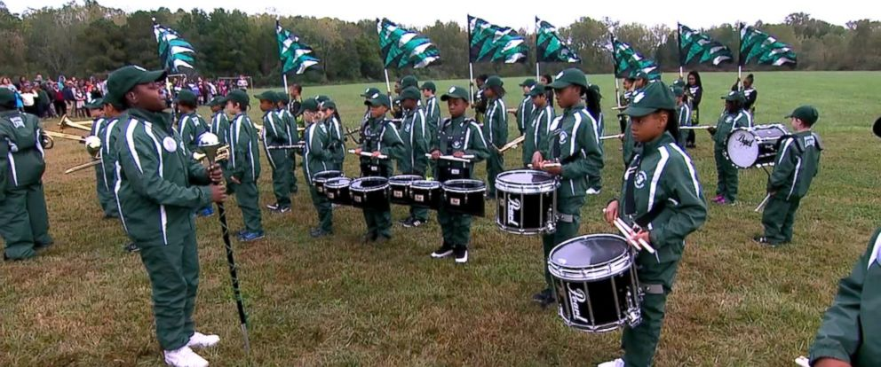 VIDEO: Elementary school drumline performs live on GMA