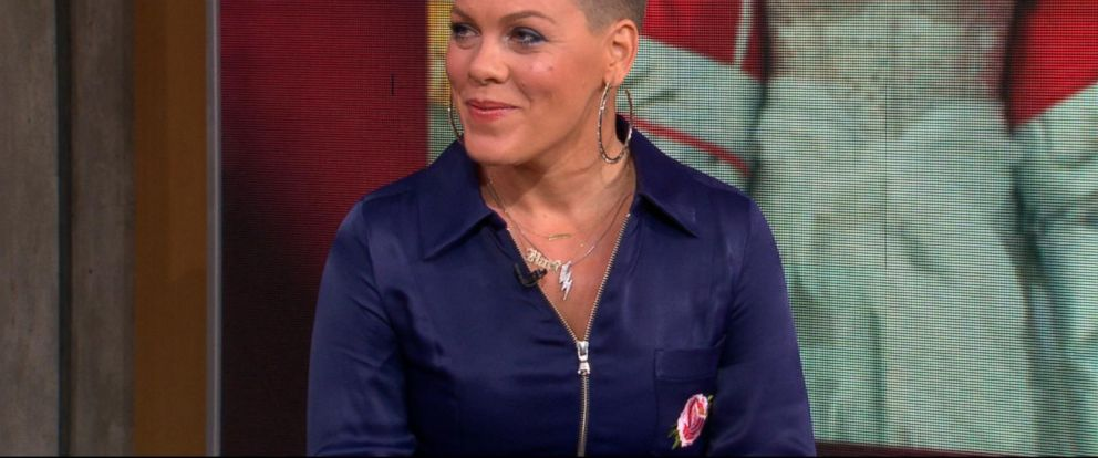 VIDEO: Catching up with P!nk live on GMA