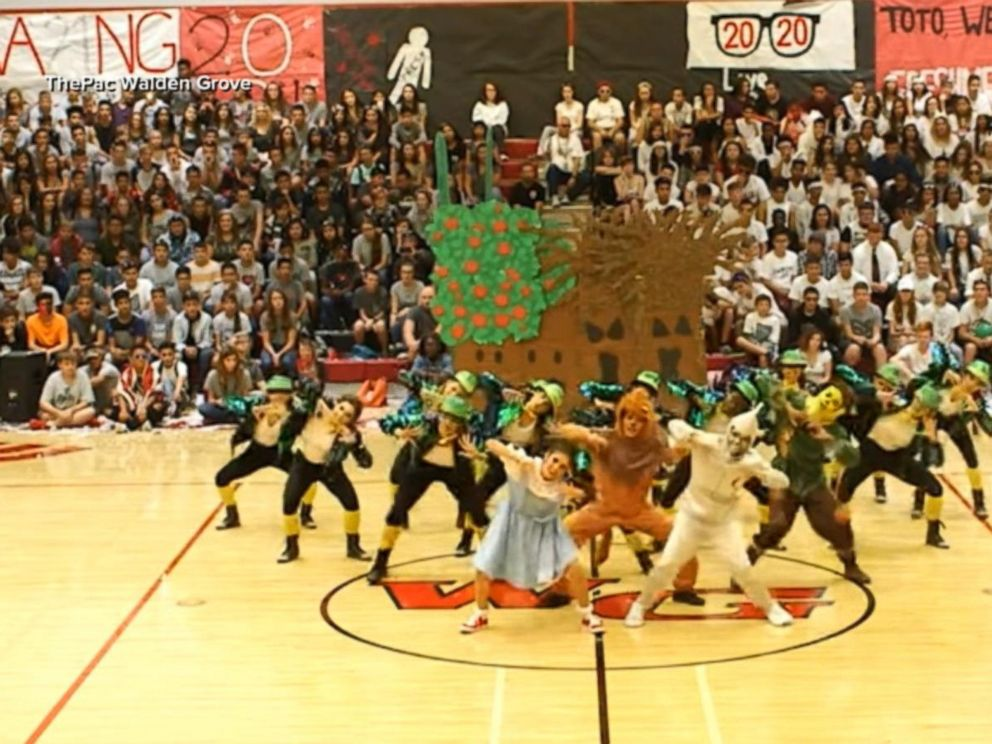 VIDEO: High schools Wizard of Oz dance routine will blow your ruby red slippers off