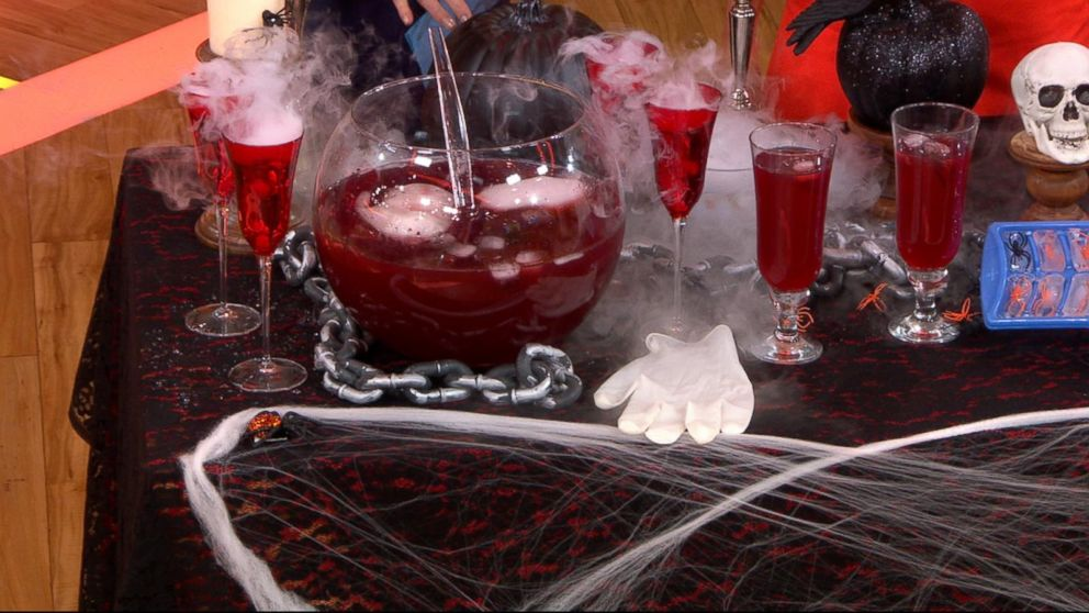 Last Minute Diy Halloween Party Ideas For Festive Food And Creepy Props Abc News