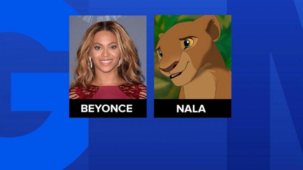 Lion King Cast Announced Beyonce To Play Nala Abc News