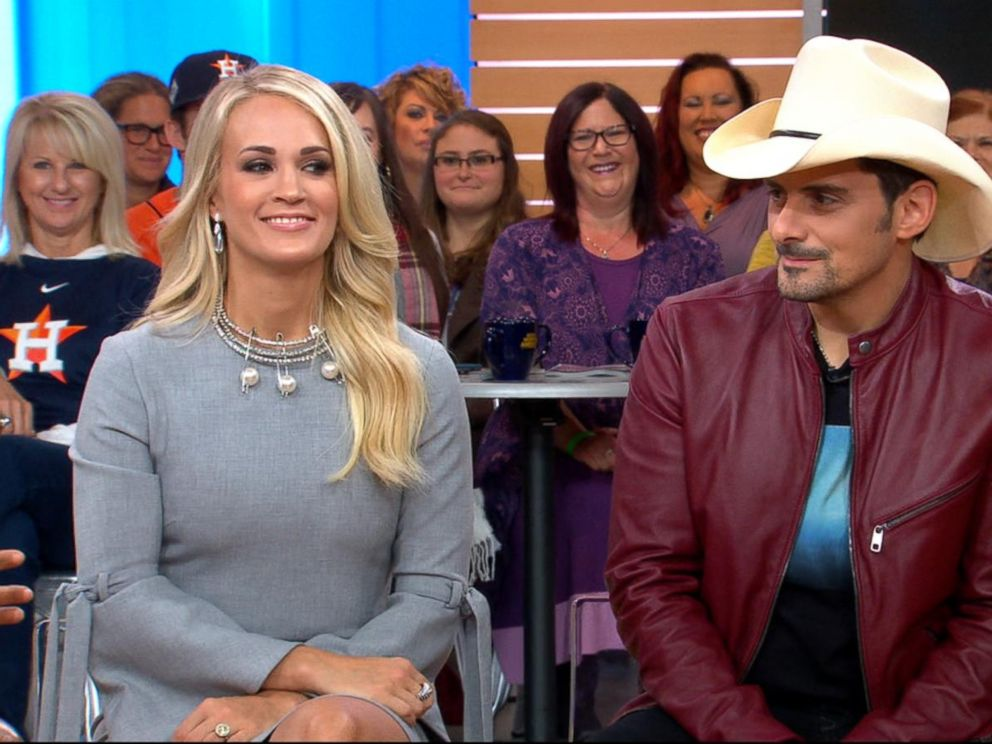 VIDEO: Brad Paisley and Carrie Underwood open up about the 2017 CMA Awards
