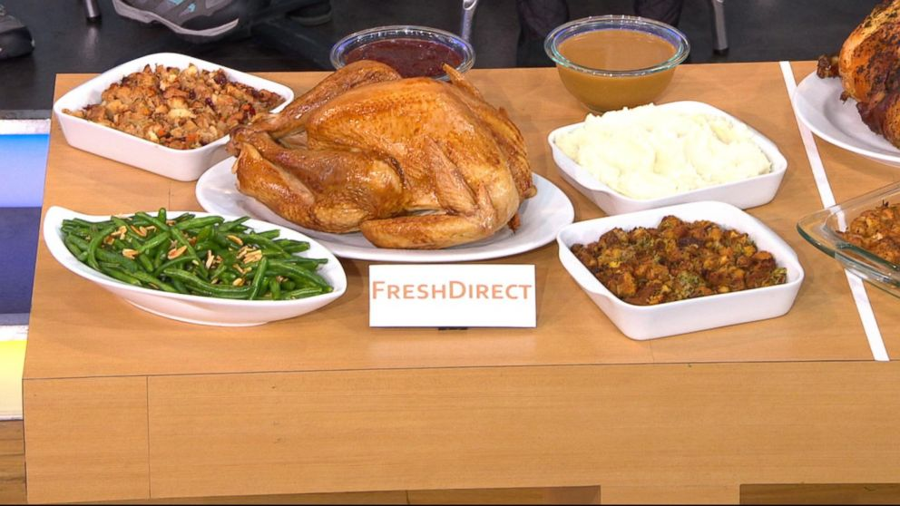 Premade Christmas Dinner.Trying Out 3 Convenient Meal Options For Thanksgiving Abc News