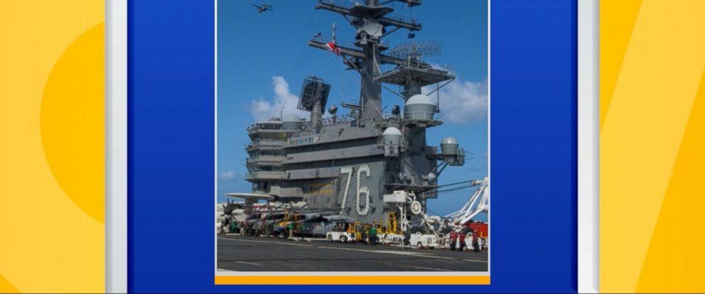 VIDEO: US Navy aircraft crashes into sea near Japan