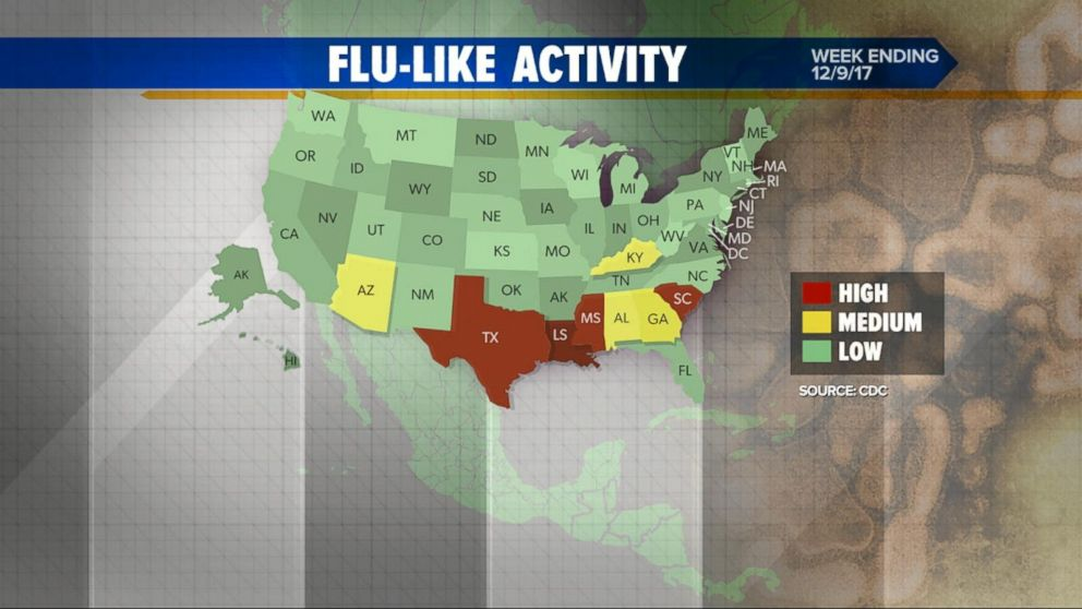 Flu cases climb, but worst is likely yet to come