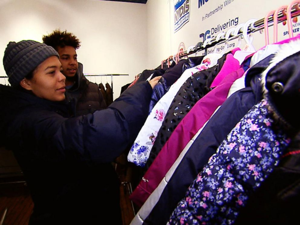 Burlington coat drive supplies Hurricane Maria evacuees with warm coats this winter