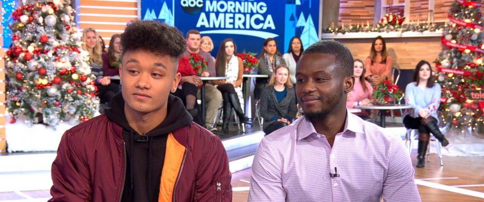 VIDEO: Long-lost brothers who discovered they attend the same college speak out live on GMA