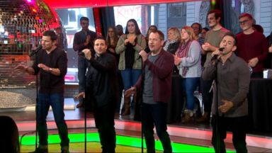 'VIDEO: 98 Degrees performs 'Seasons of Love' on 'GMA'' from the web at 'https://s.abcnews.com/images/GMA/171222_gma_perf2_849_16x9_384.jpg'