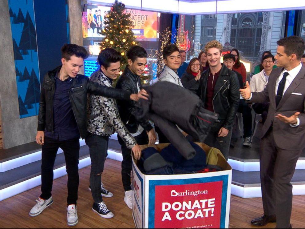 In Real Life members donate coats for Burlington Coat Drive